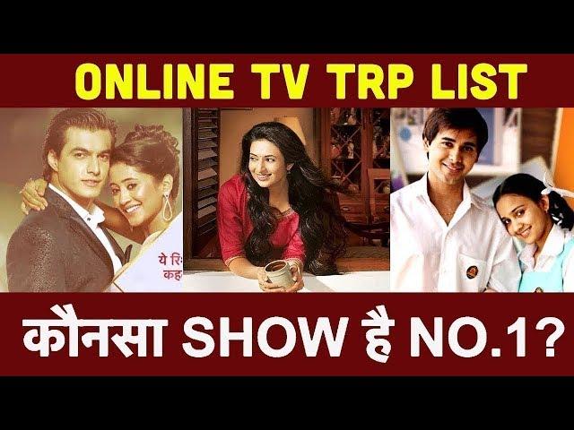 Top 10 Online TV TRP: Yeh Rishta Kya Kehlata Hai।  Kasautii Zindagii Kay 2। The Kapil Sharma Show