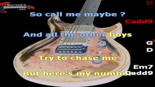 Call me maybe (V5: Version pour guitariste / chanteur) - Carly Rae Jepsen