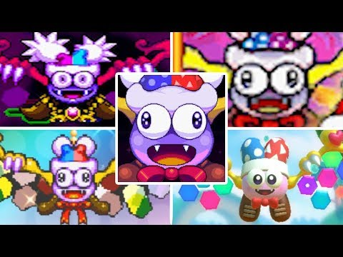 Evolution of Marx in Kirby Games (1996 - 2018)