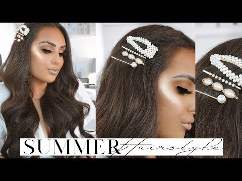 QUICK & EASY SUMMER HAIRSTYLE 2019 *NEW* thumbnail