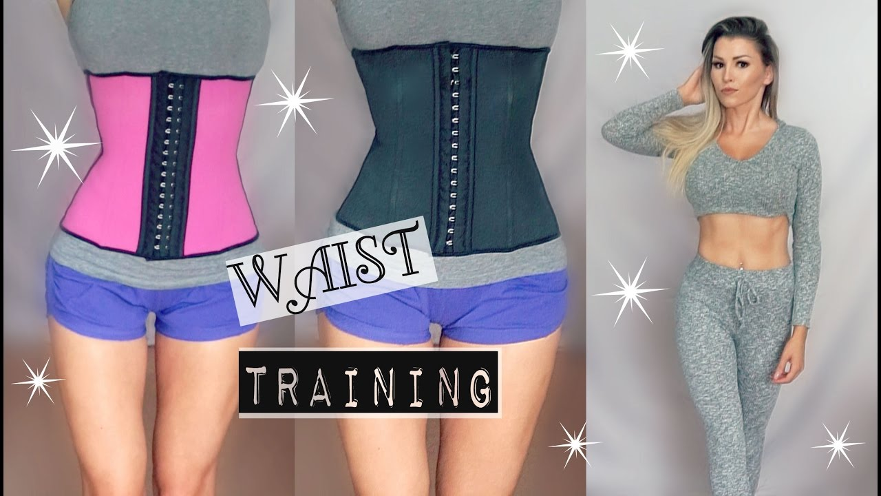 0cf40a7c763ee WAIST TRAINING ROUTINE! Does it work  My experience   Results - YouTube
