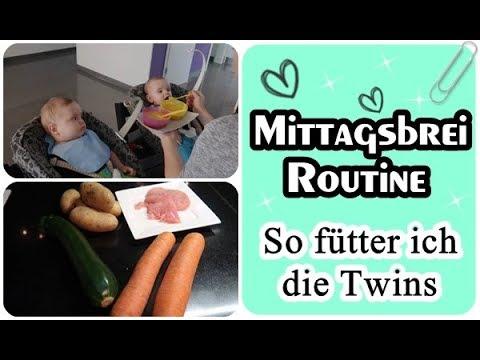 Mittagsbrei Routine/Beikost/Zwillinge/Thermomix/Mel´s Kanal