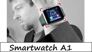 19€ China Smartwatch A1 - Apple Watch in Billig - Review -  Deutsch