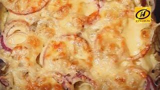 Запечёный картофель - лёгкий и диетический рецепт