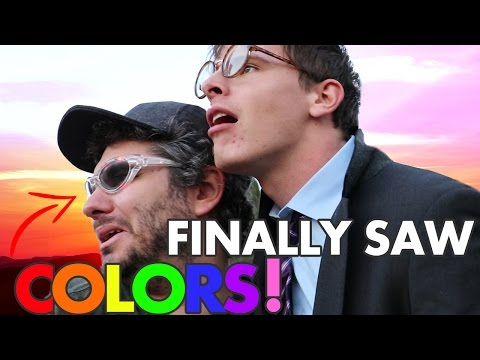 THESE GLASSES CURED OUR COLOR BLINDNESS! FT iDubbbzTV