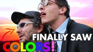 Download THESE GLASSES CURED OUR COLOR BLINDNESS! FT. iDubbbzTV Mp3 and Videos