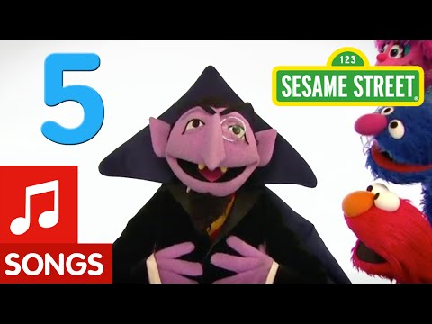 Sesame Street: Number 5 Song (Number of the Day)