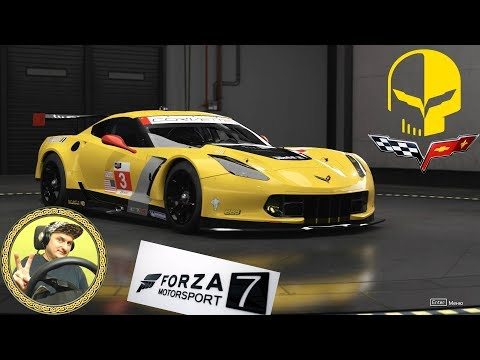 Forza Motorsport 7   Прохождение Карьеры #6   Carier Part 6   Corvette C7.R