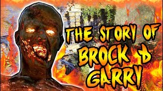 The Story of BROCK & GARRY! TRAPPED IN THE TEMPLE OF SHANGRI LA! Black Ops Zombies Storyline