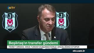 """Beşiktaş Başkanı Orman """"Burak Yılmazı bırakmayı düşünmüyoruz"""""""