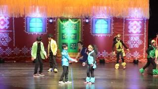 kids dance performance on Badhrachalam konda, lux papa, priyaragaley, manasu, Katamarayuda..