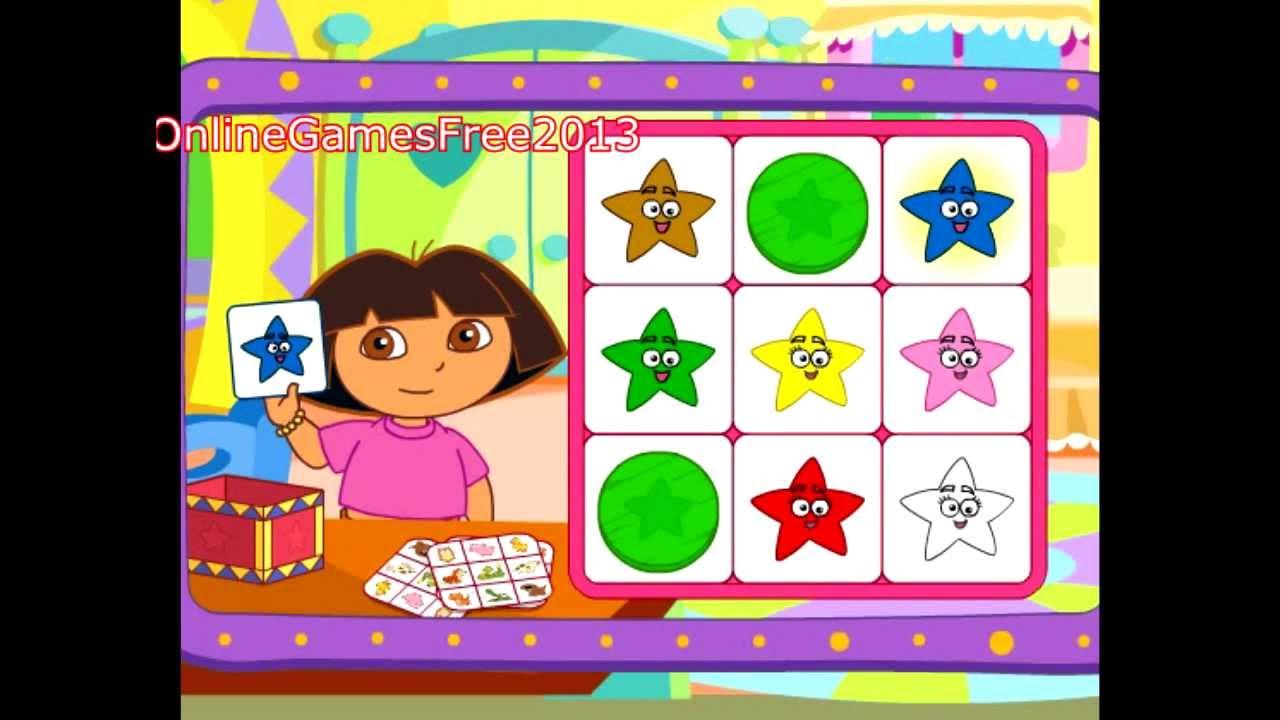 Dora The Explorer Dora S Say It Two Ways Bingo Game New