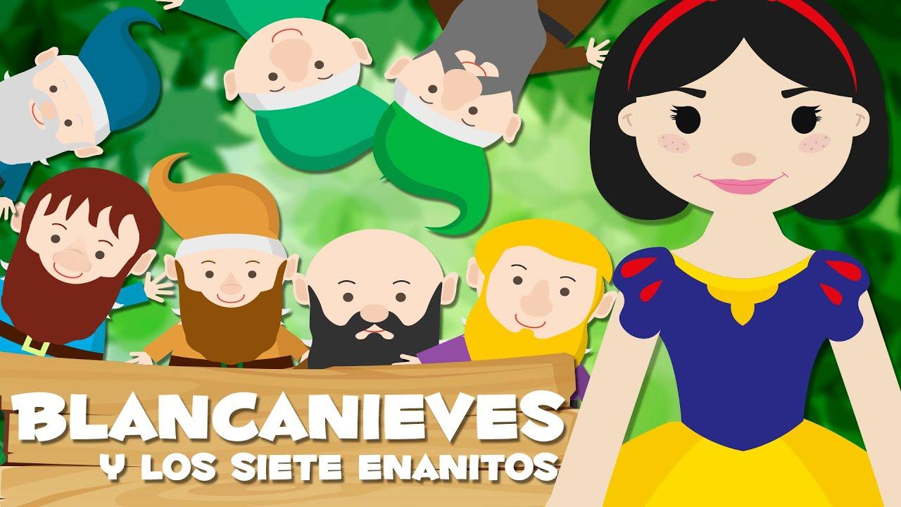 Blancanieves Y Los Siete Enanitos Cuentos Infantiles Animados En Español Youtube