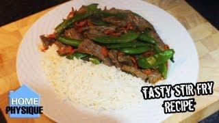 Bodybuilding Meal Quick Healthy Beef Stir Fry Recipe