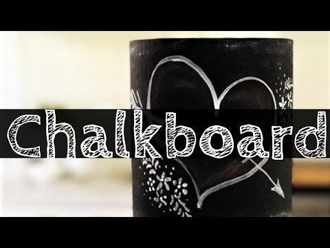 Cake! TV: Painting a Chalkboard Design Cake with Edible Paint and Dust