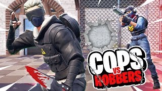 COPS and ROBBERS in FORTNITE! - *PRISON BREAK* mit iCrimax