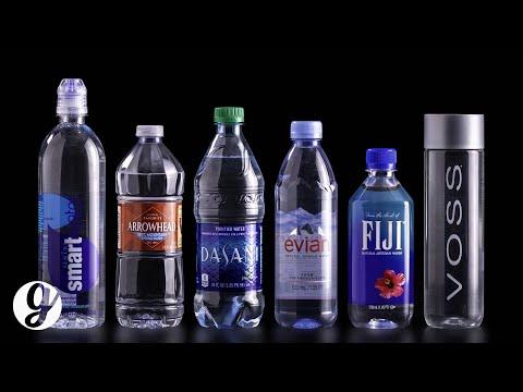 Tasting The Most Popular Bottled Water   GRATEFUL