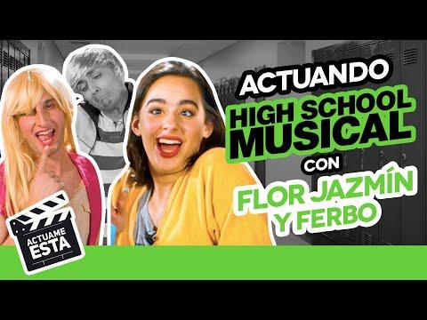 FLOR JAZMÍN Y FERBO SE PONEN PICANTES   ACTUAME ÉSTA: High School Musical - Hecatombe Producciones