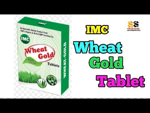 IMC WHEAT GOLD TABLET / SUDIP SUTHAR / IMC BUSINESS PRODUCTS.