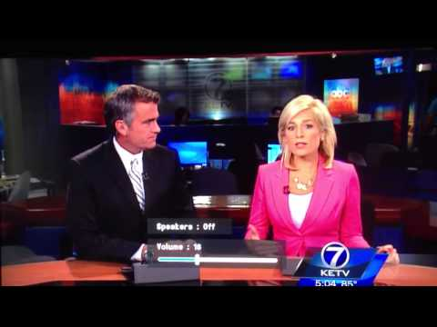 Omaha reporter swears on live newscast