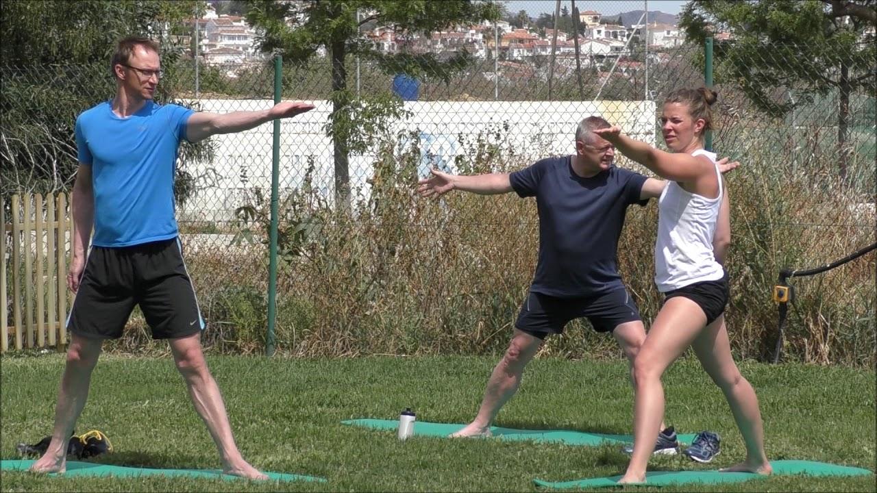 träning efter stroke