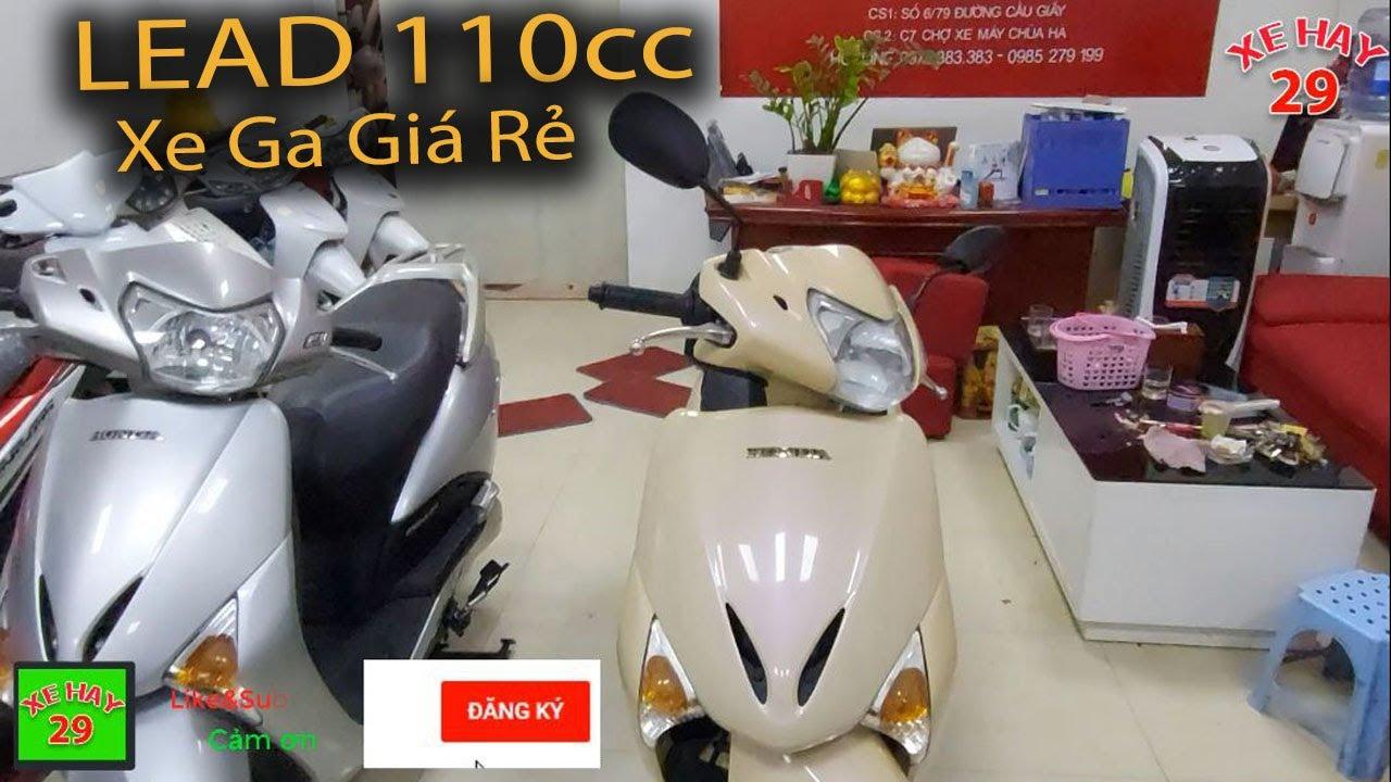 Bán 2 Chiếc Xe Ga Giá Rẻ Honda LEAD 110 Đời Chót Cực Chất