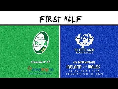 Ireland V Scotland U16's First Half