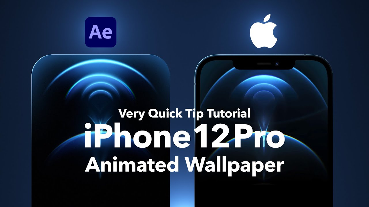 If you don't want to spend the time to make your. This is iPhone 12 Pro: Live Wallpaper animated in After ...