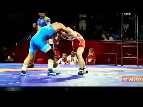 57kg Gold Medal Match In Asian Game 2018.