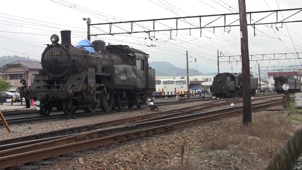 大井川鐵道 E101号によるSL入換...