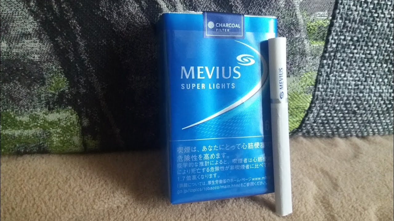 купить сигареты mevius япония