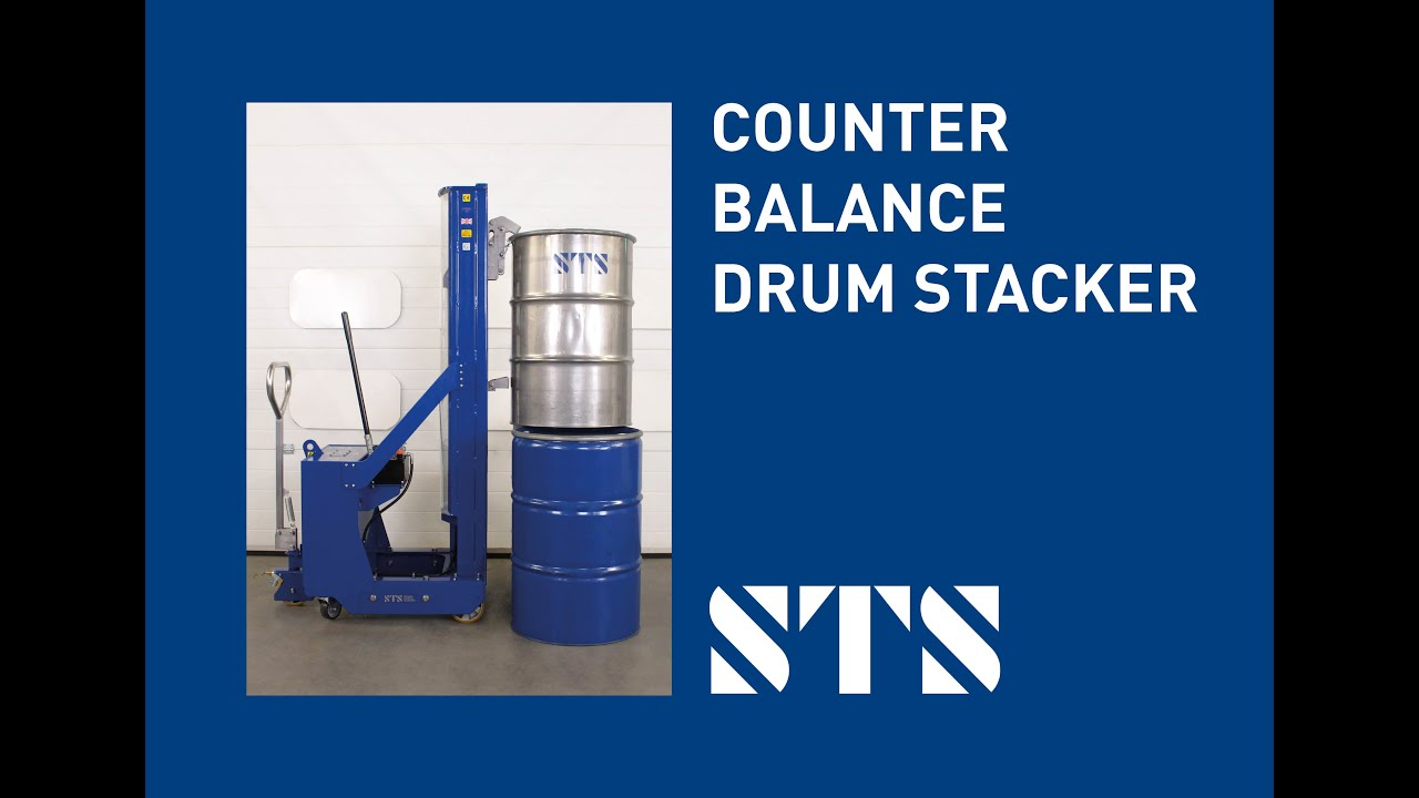 Counterbalance Drum Stacker (DTP08-250kg-R1260)