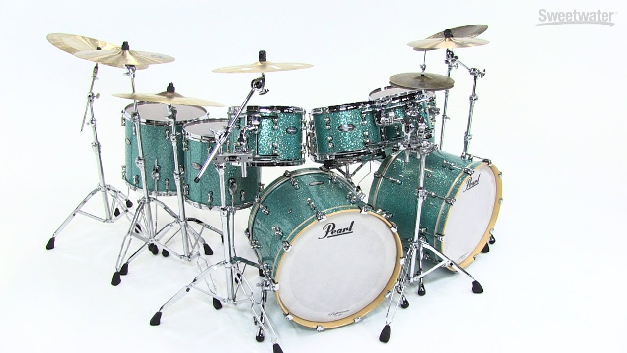Pearl Music City Custom Reference Pure Double Bass Shell Pack Review By Sweetwater