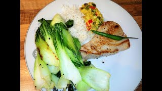 Tuna Chinese cabbage Lunch / Simple Pak Choi Recipes