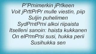 Eppu Normaali - Samaan Aikaan Toisaalla Lyrics
