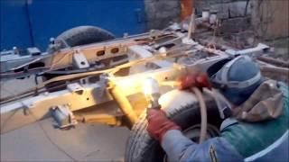 пескоструйка кабины и рамы УАЗ