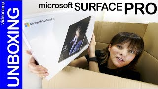 Microsoft Surface Pro unboxing -¿perfecto o mejorable?-