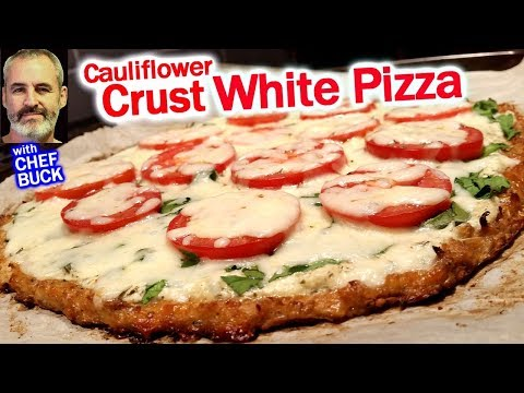 Make a Perfect Cauliflower Crust White Pizza