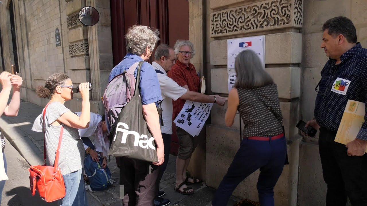 Le DAL renomme le ministère de la  « Cohésion des territoires » (3 juillet 2018, Paris)