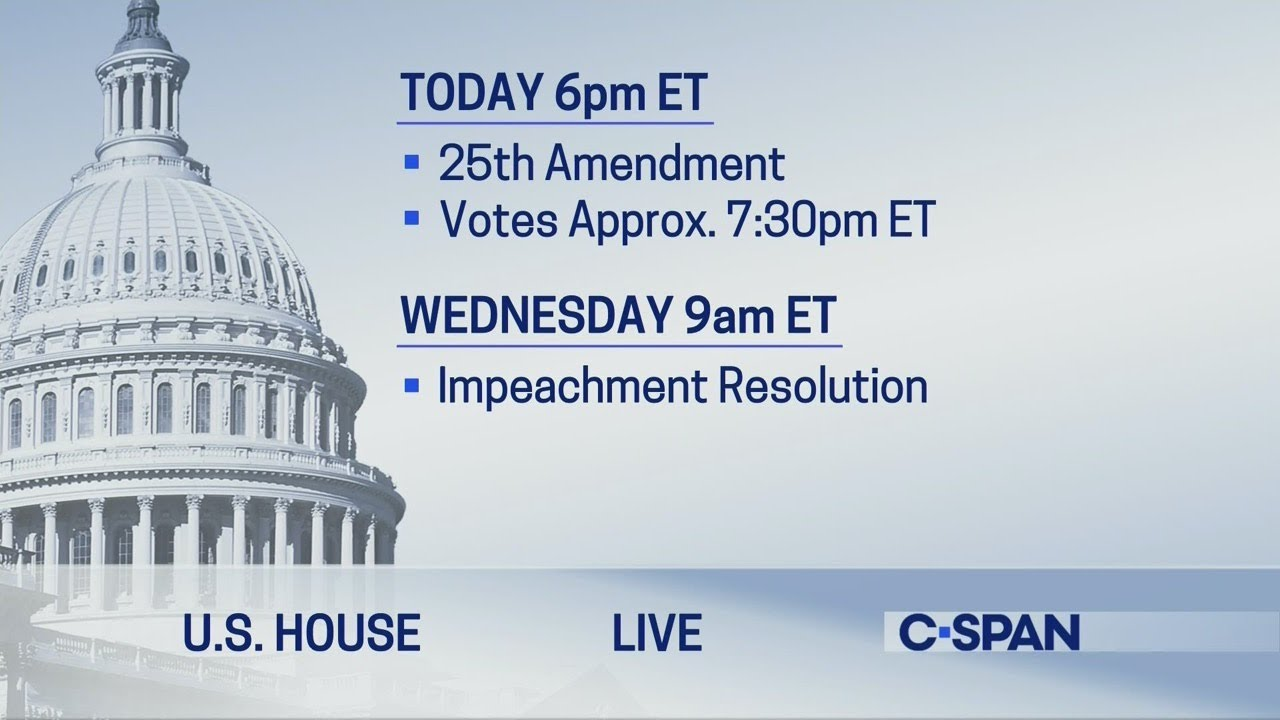 U.S. House: Debate on 25th Amendment