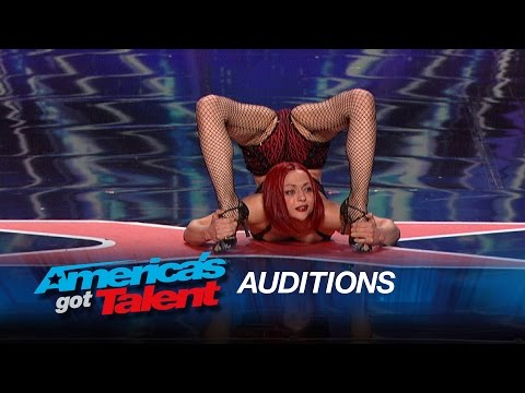 Amazing Contortionists Bend Their Way to the AGT Stage - America's Got Talent 2015