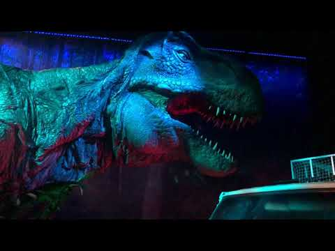 Jurassic World l'exposition - T Rex (Animatronique)