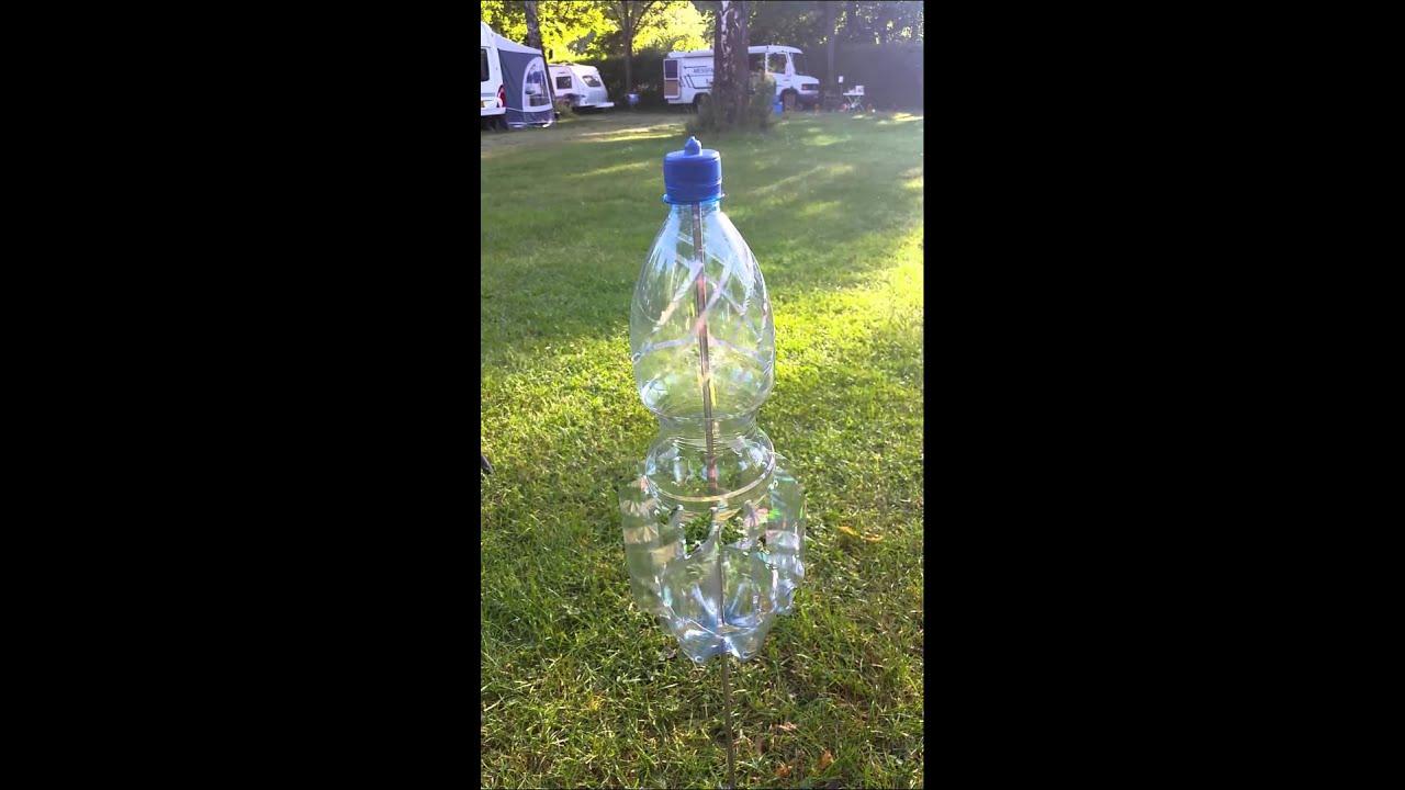 Windspiel youtube for Flaschen deko garten