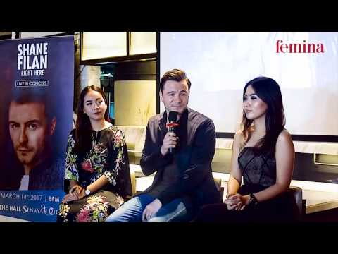 Shane Filan Press Conference - Jakarta, 13 Maret 2017
