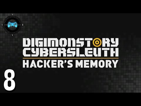 Nakano Stripes - Digimon Story Cyber Sleuth: Hackers Memory #8 [Blind Let's Play, Playthrough]