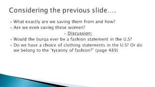 "WAGS 148: ""Do Muslim Women Really Need Saving"""