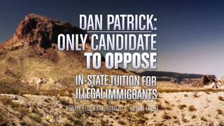 "Dan Patrick for Texas Lt. Governor - TV Ad ""Fight"""