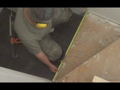 Stairs Installation: How To Install Hardwood Or Laminate On Triangle Stairs  MrYoucandoityourself   YouTube