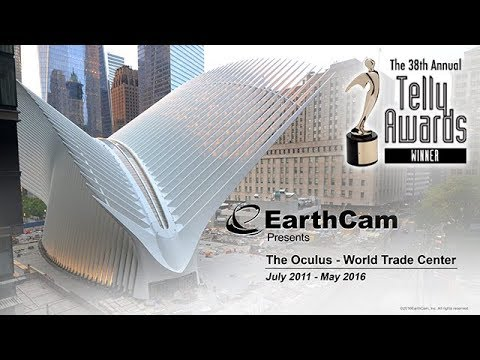 Official Oculus - World Trade Center Construction Time-Lapse