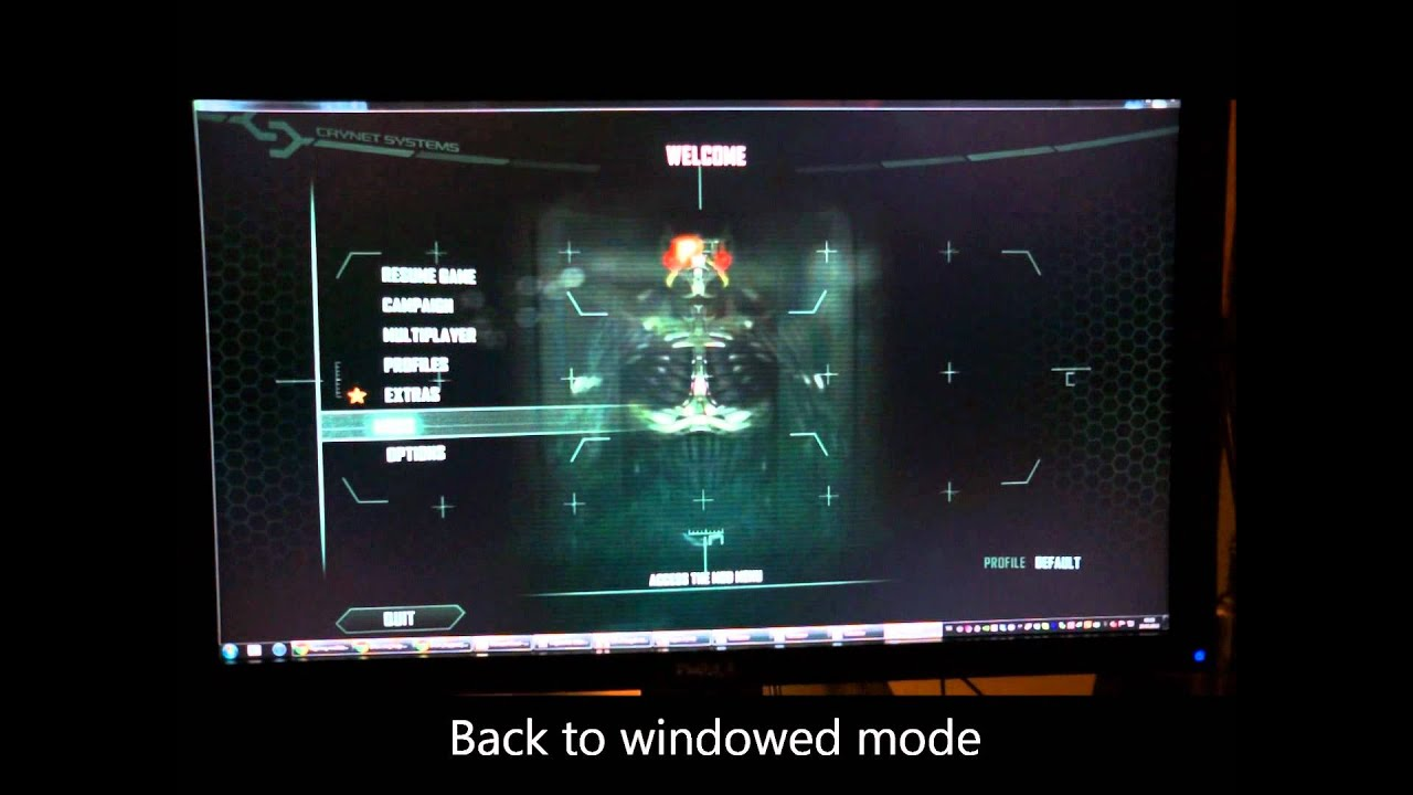 Screen Flicker Problem in Full Screen Games